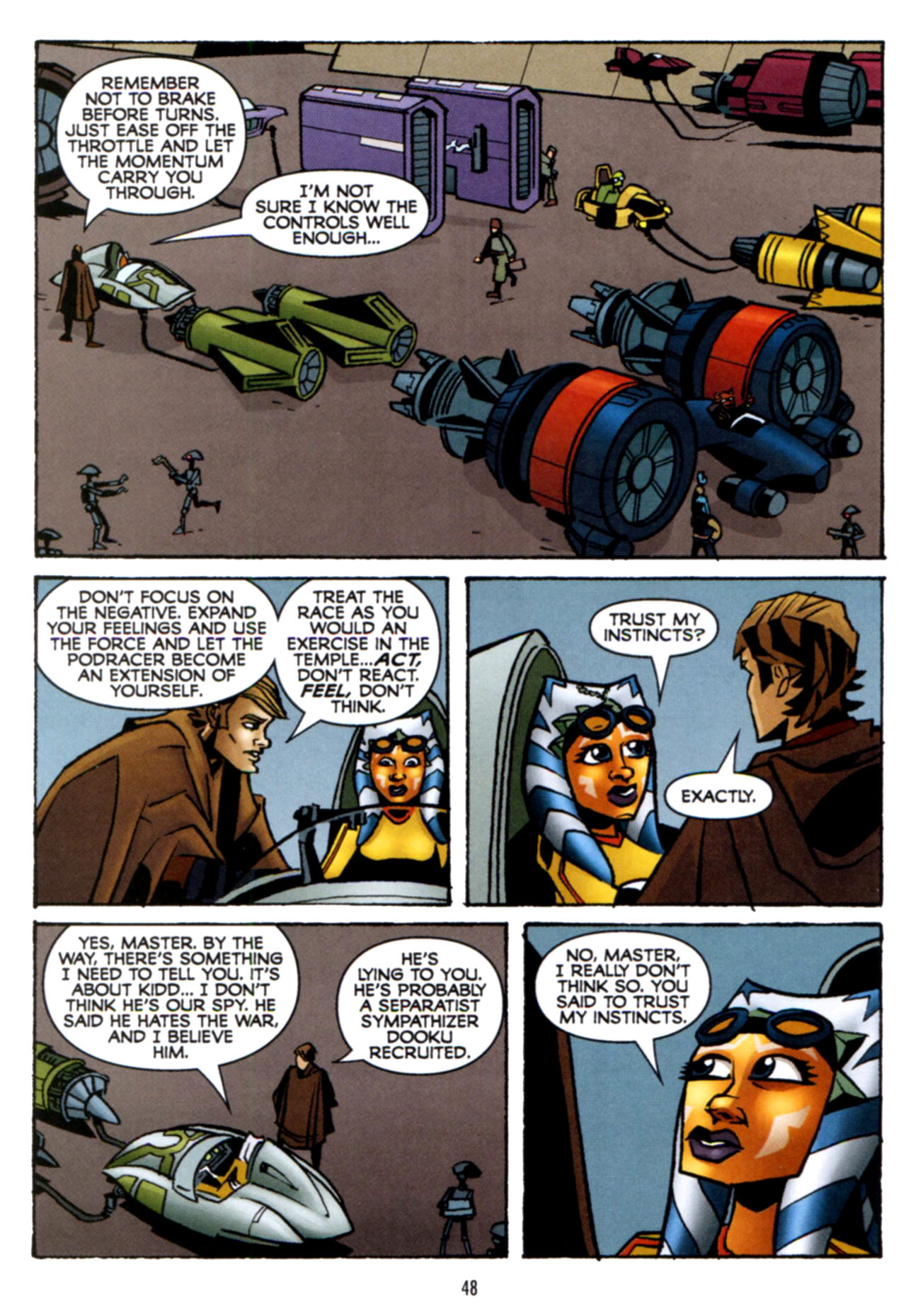 Read online Star Wars: The Clone Wars - Crash Course comic -  Issue # Full - 49