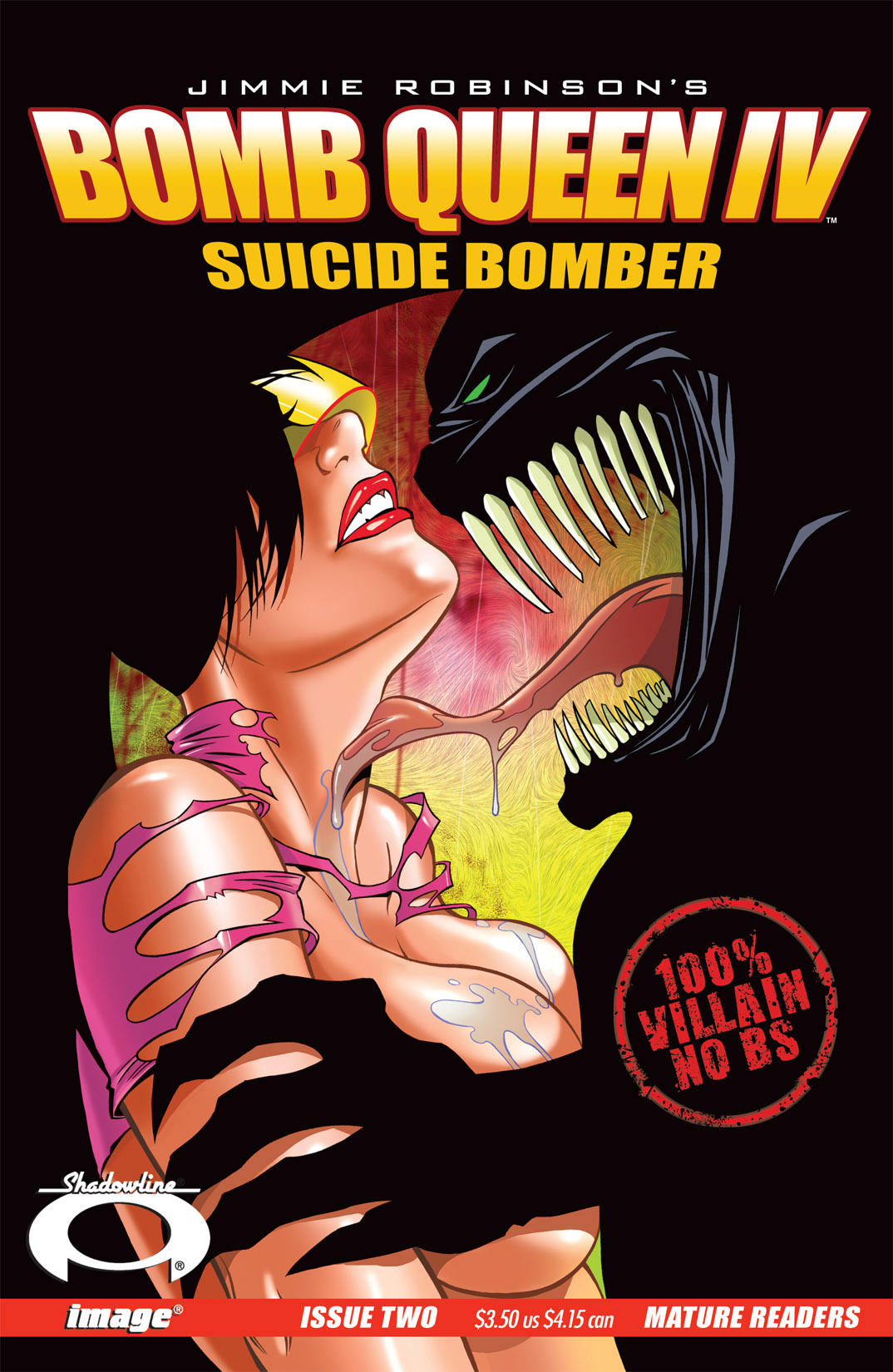Bomb Queen IV Suicide Bomber Issue 2