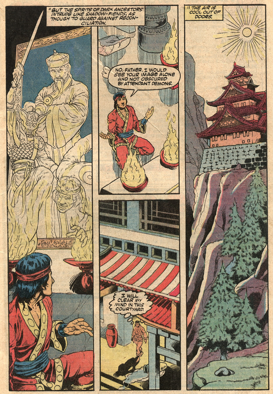 Read online Master of Kung Fu (1974) comic -  Issue #125 - 4