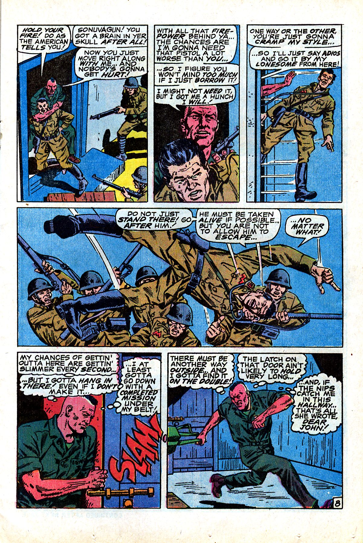 Captain Savage and his Leatherneck Raiders issue 17 - Page 13