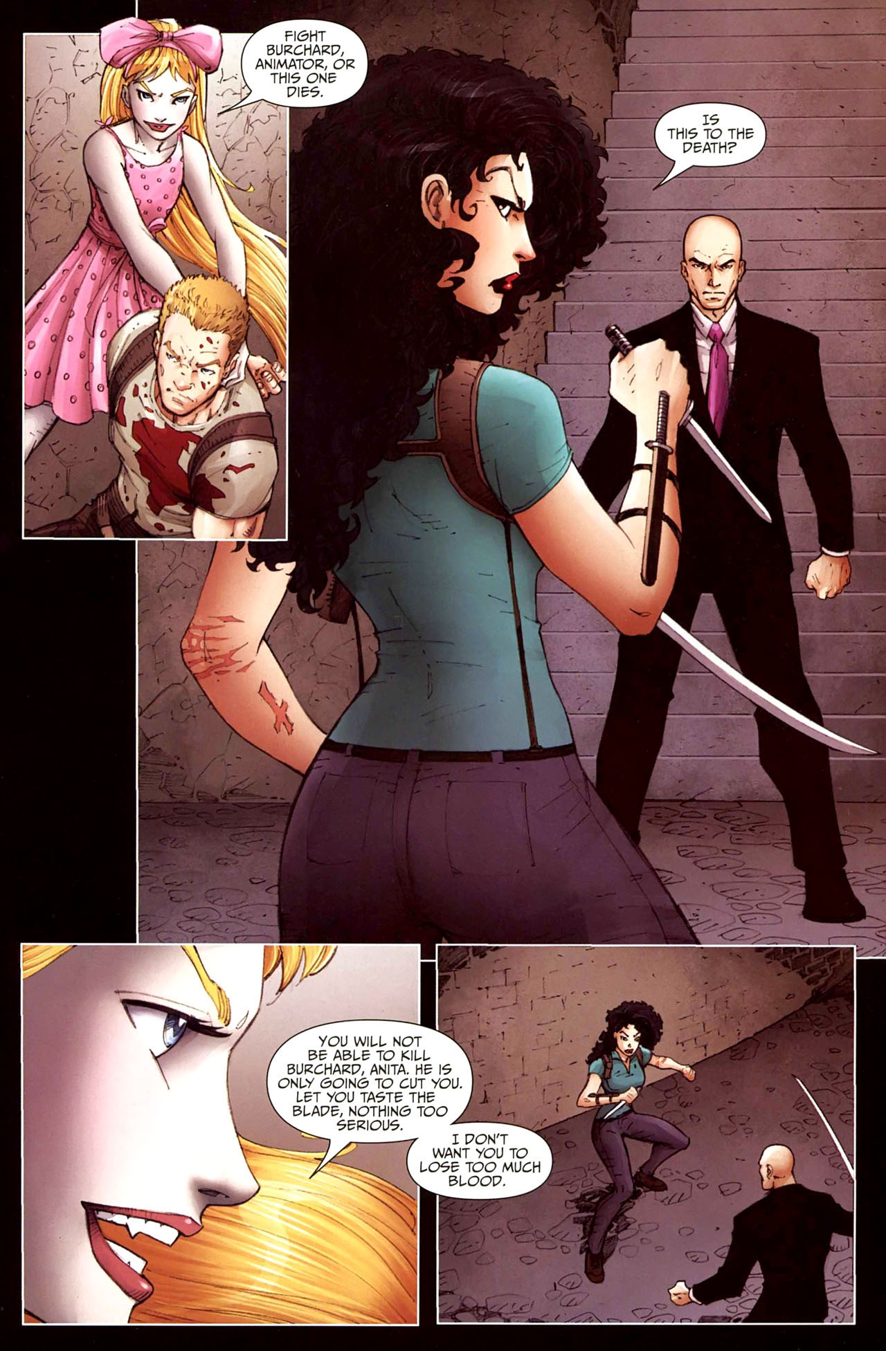 Read online Anita Blake, Vampire Hunter: Guilty Pleasures comic -  Issue #12 - 7