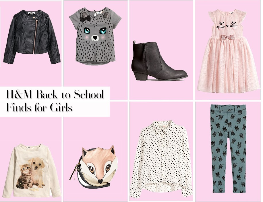 H&M Back to School Finds for Girls