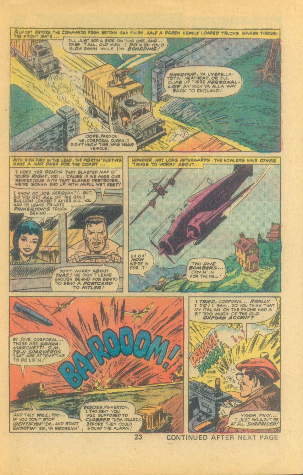 Read online Sgt. Fury comic -  Issue #132 - 25