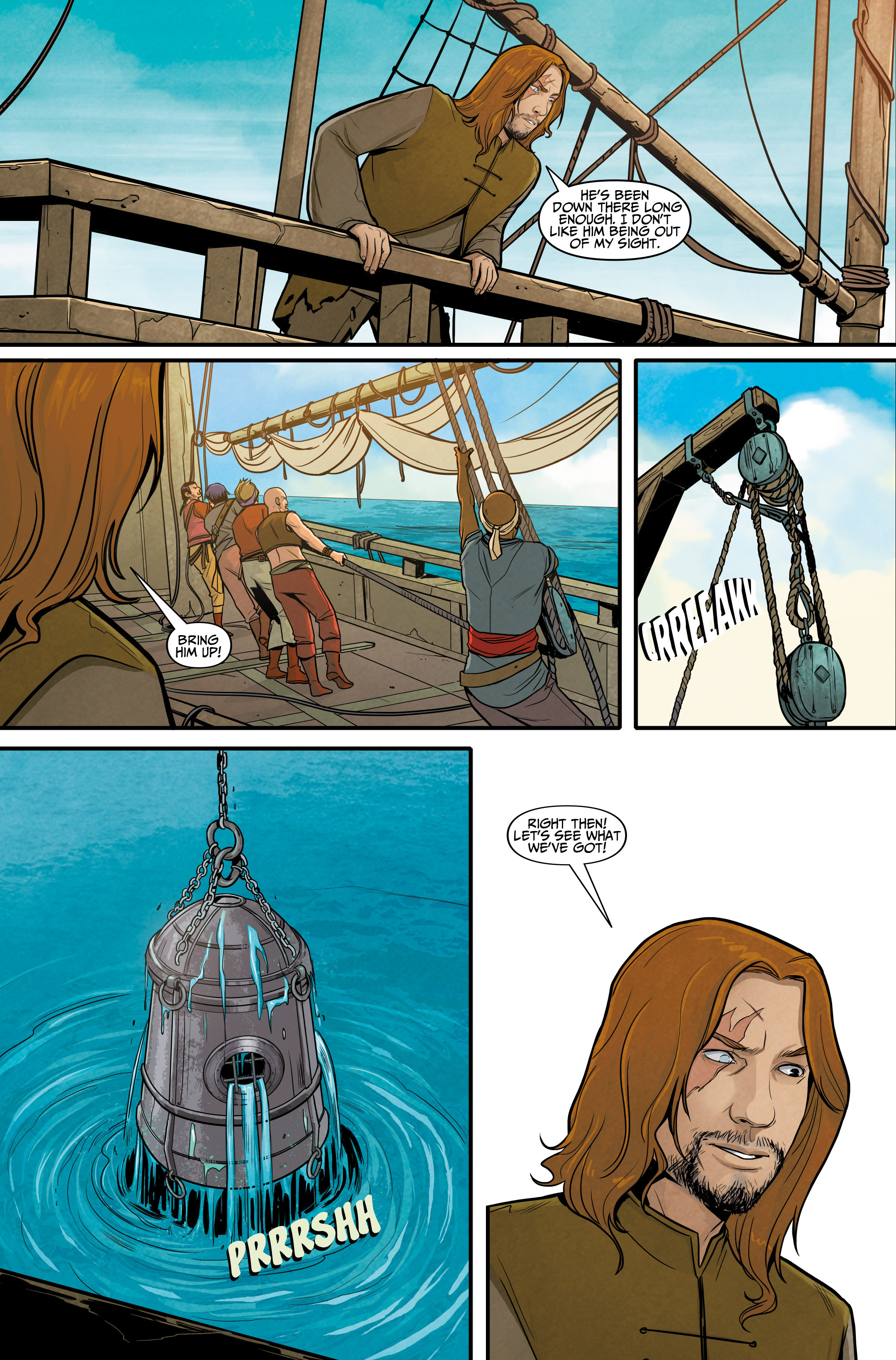 Read online Assassin's Creed: Reflections comic -  Issue #3 - 12