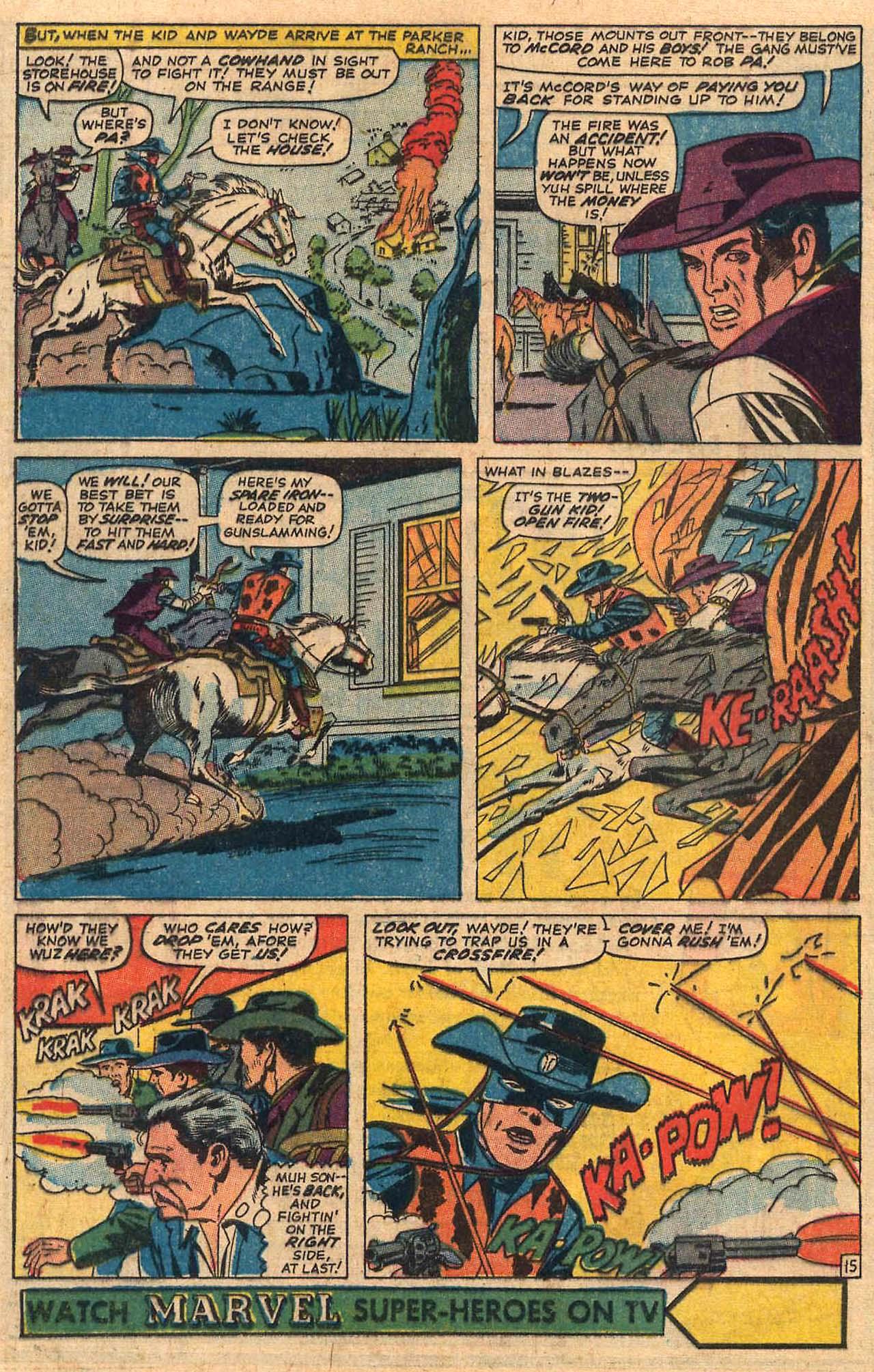 Read online Two-Gun Kid comic -  Issue #84 - 20