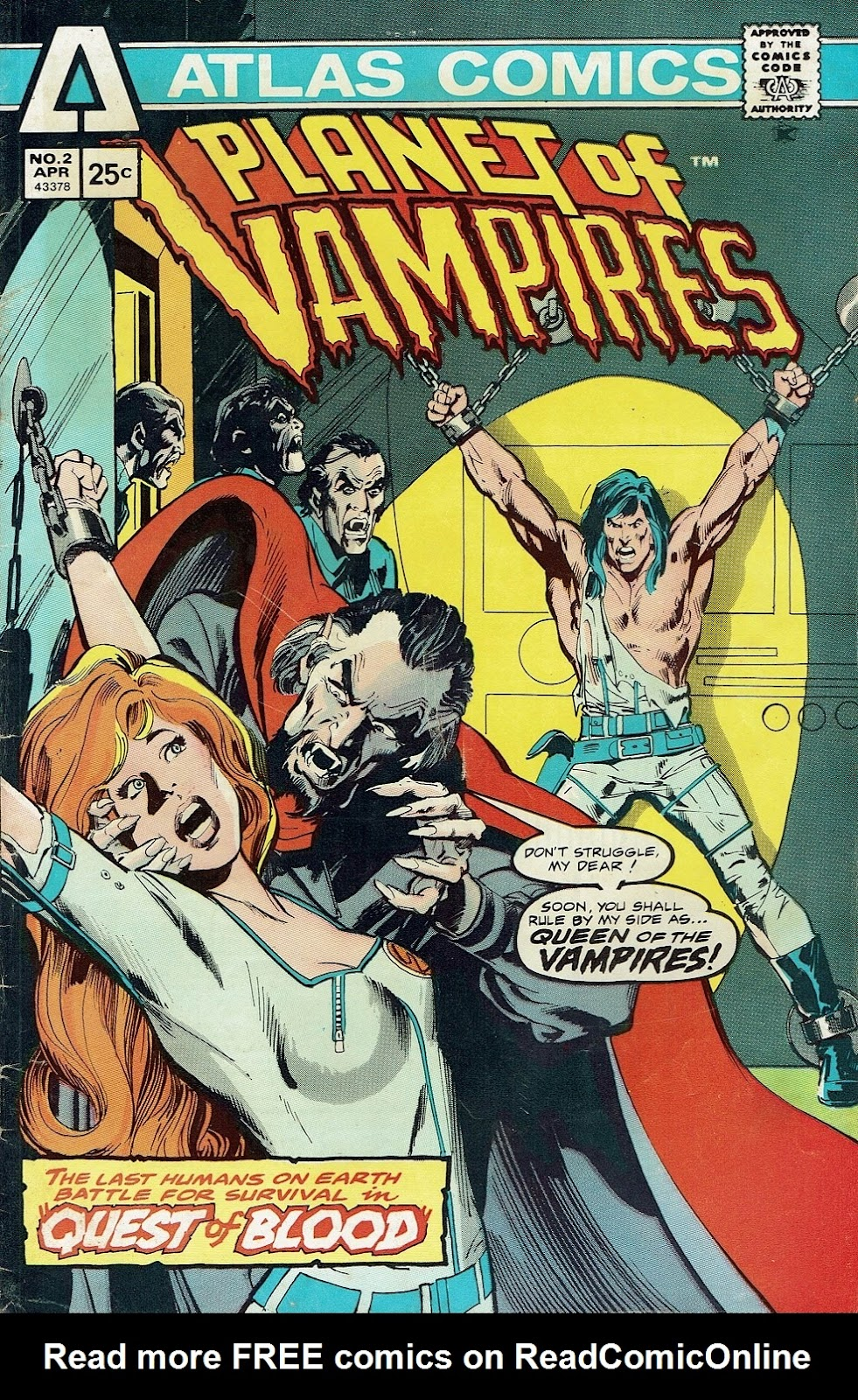Read online Planet of Vampires comic -  Issue #2 - 1