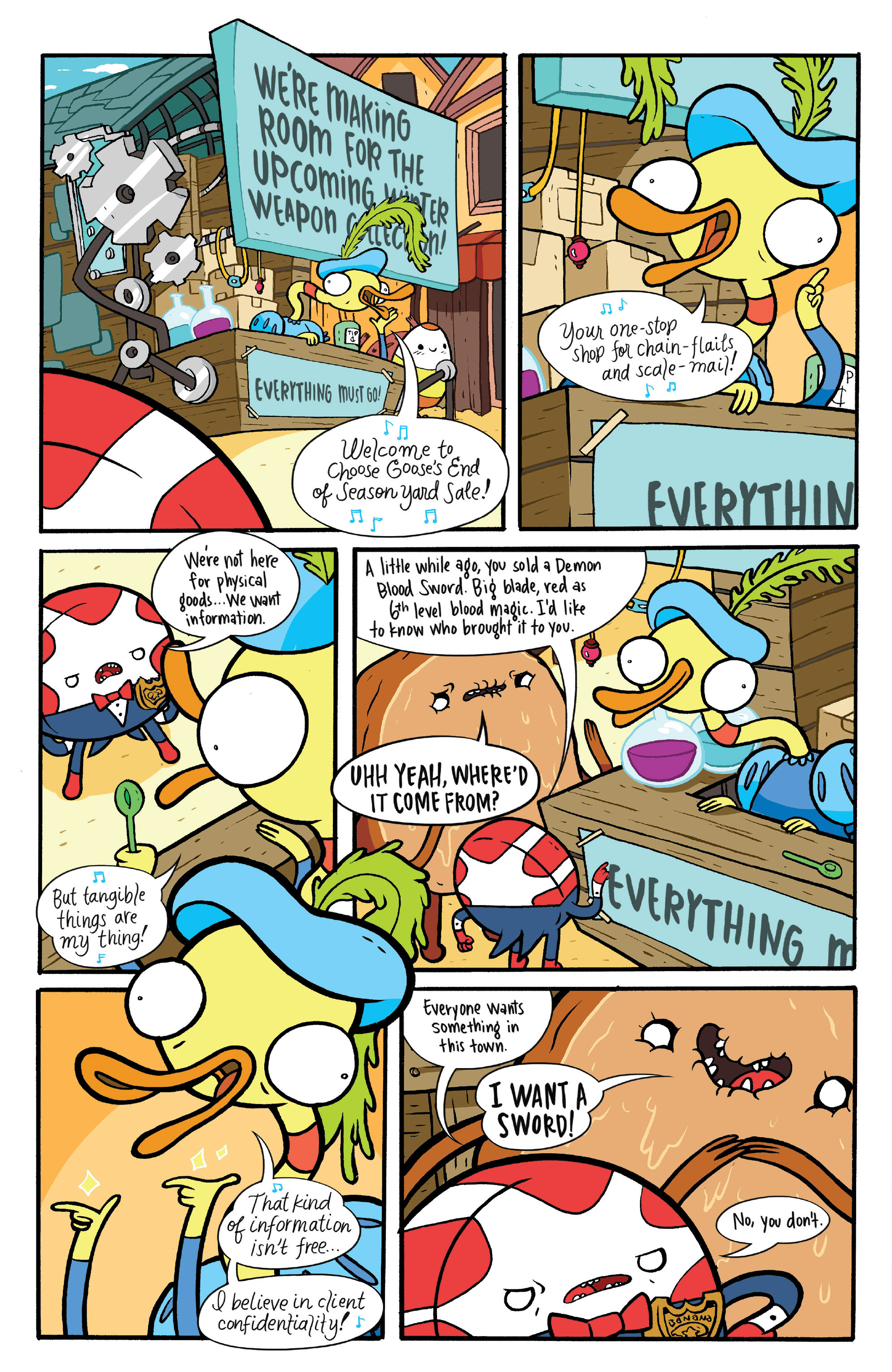 Read online Adventure Time: Candy Capers comic -  Issue #4 - 8