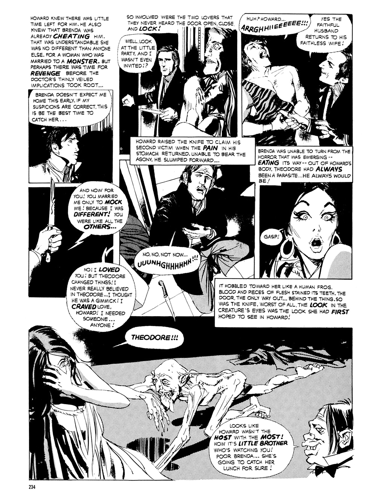 Read online Eerie Archives comic -  Issue # TPB 8 - 235