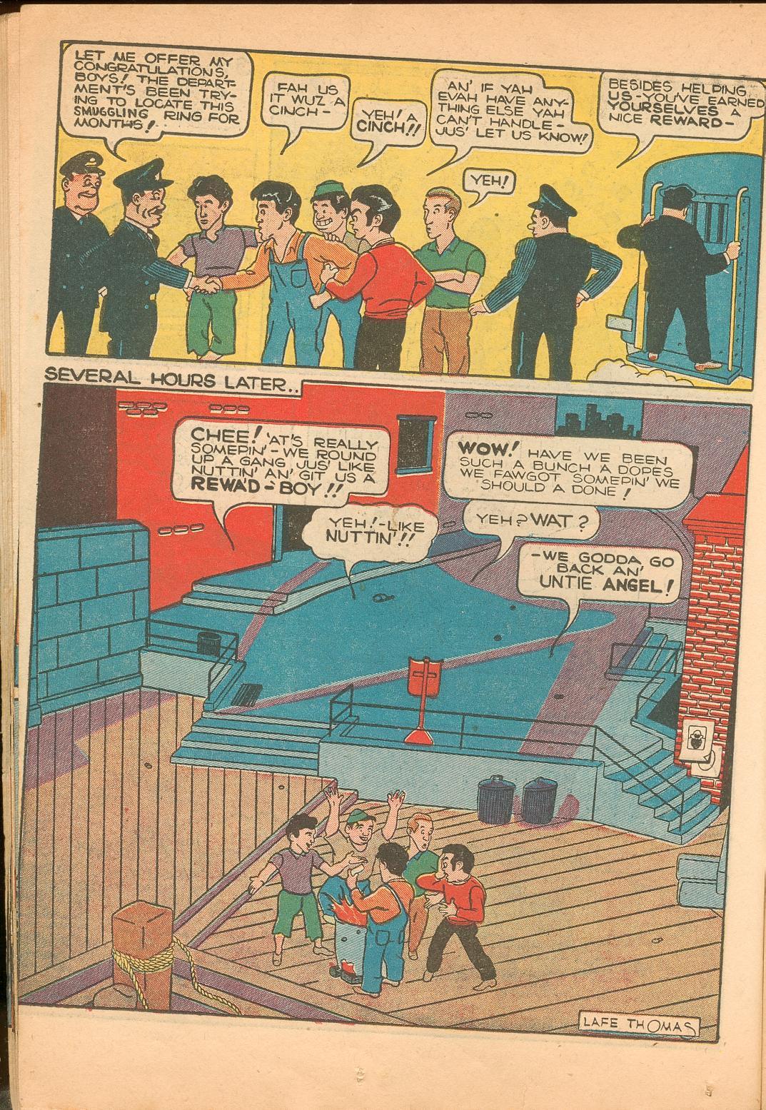Read online Shadow Comics comic -  Issue #11 - 26