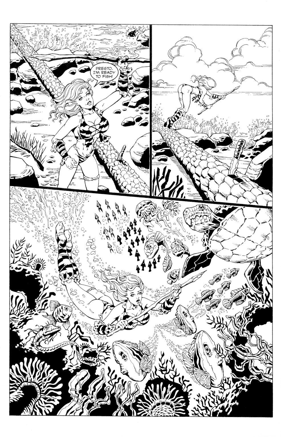 Read online Jungle Fantasy (2002) comic -  Issue #4 - 7