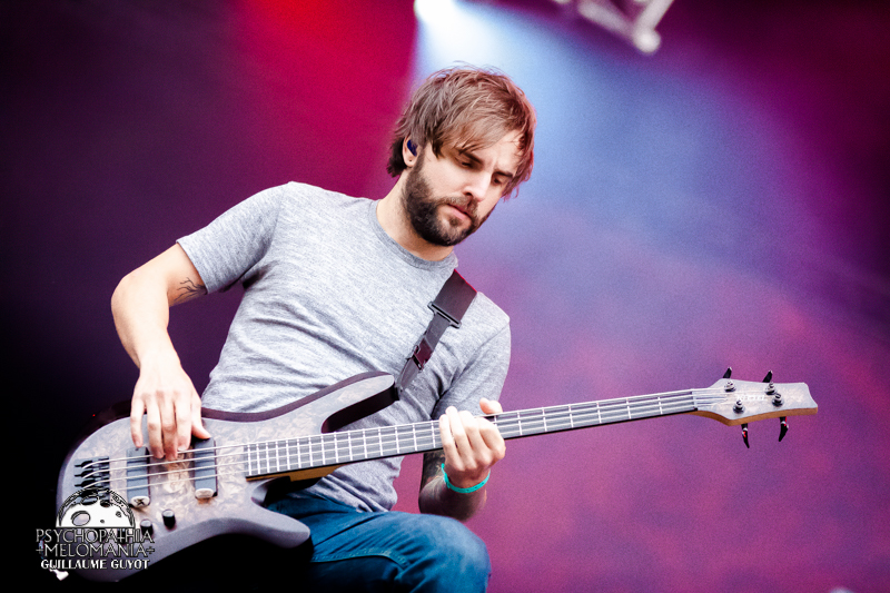 August Burns Red @Hellfest 2016 - samedi 18/06