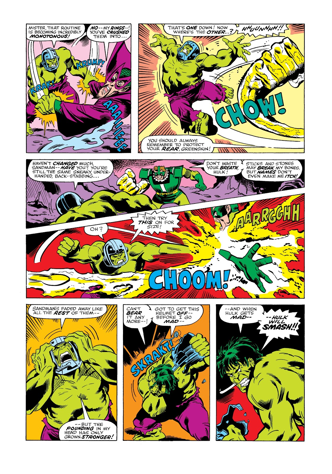 Read online Marvel Masterworks: The Incredible Hulk comic -  Issue # TPB 12 (Part 2) - 10