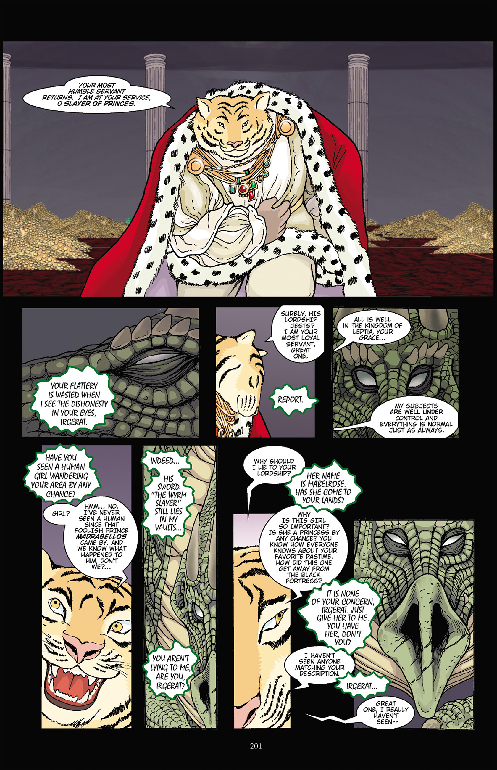 Read online Courageous Princess comic -  Issue # TPB 1 - 198