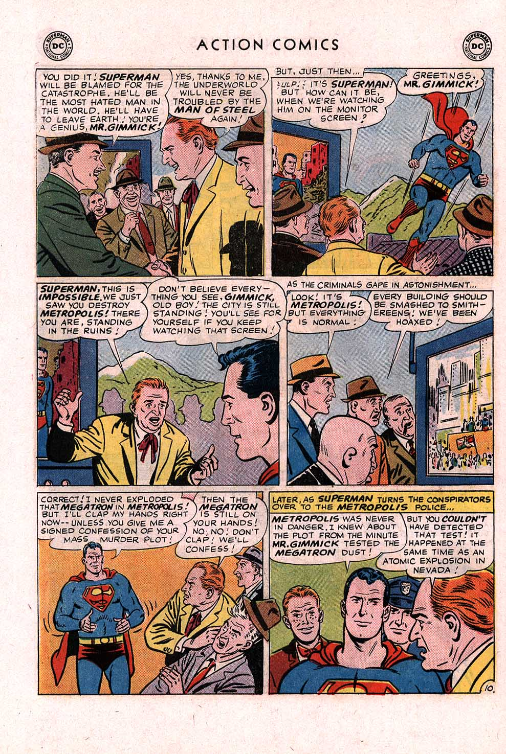 Read online Action Comics (1938) comic -  Issue #328 - 11