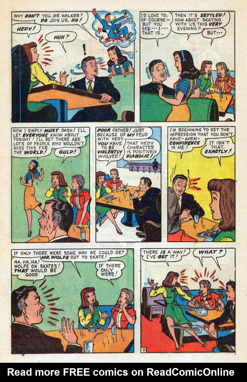 Read online Nellie The Nurse (1945) comic -  Issue #14 - 21