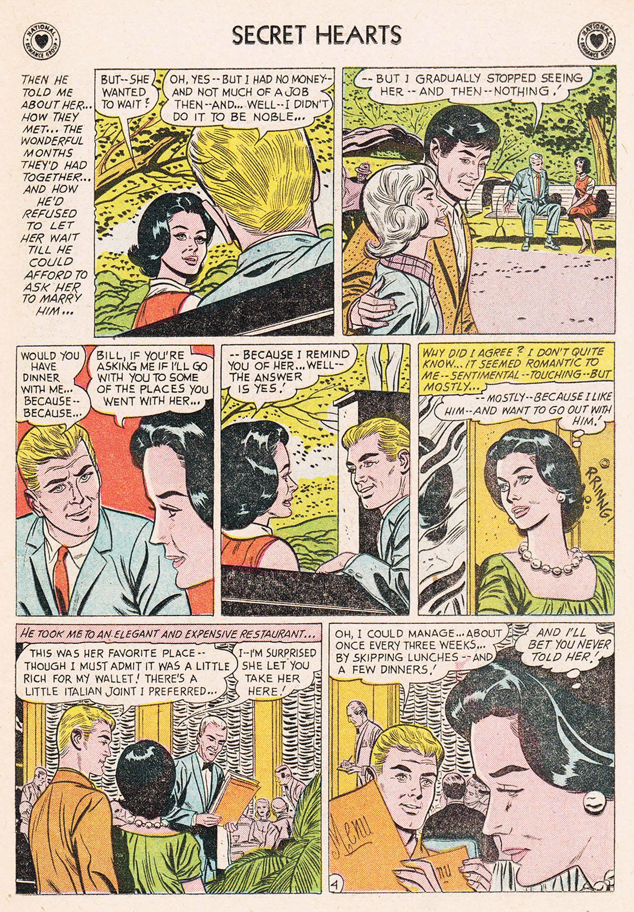 Read online Secret Hearts comic -  Issue #75 - 21