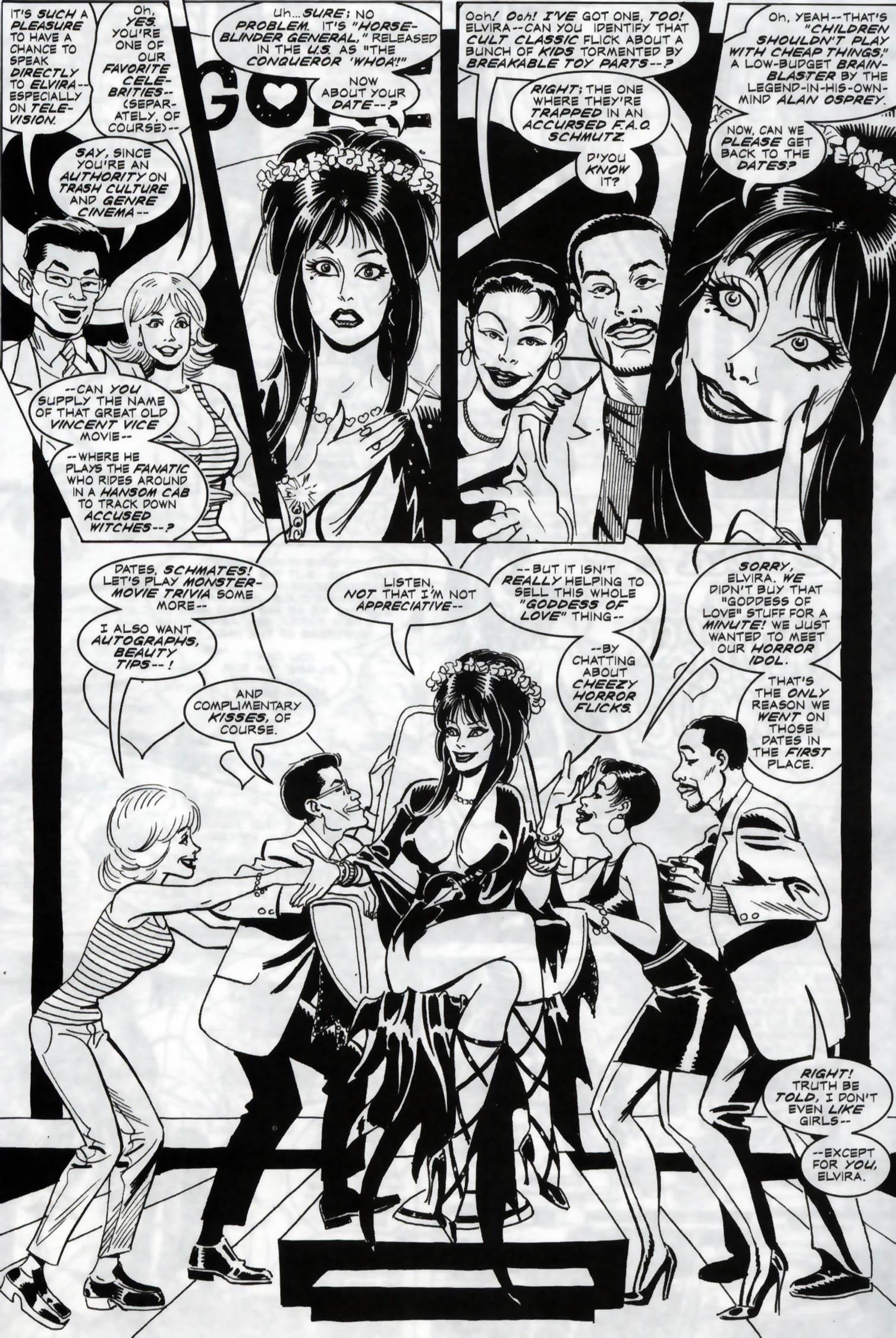 Read online Elvira, Mistress of the Dark comic -  Issue #119 - 22