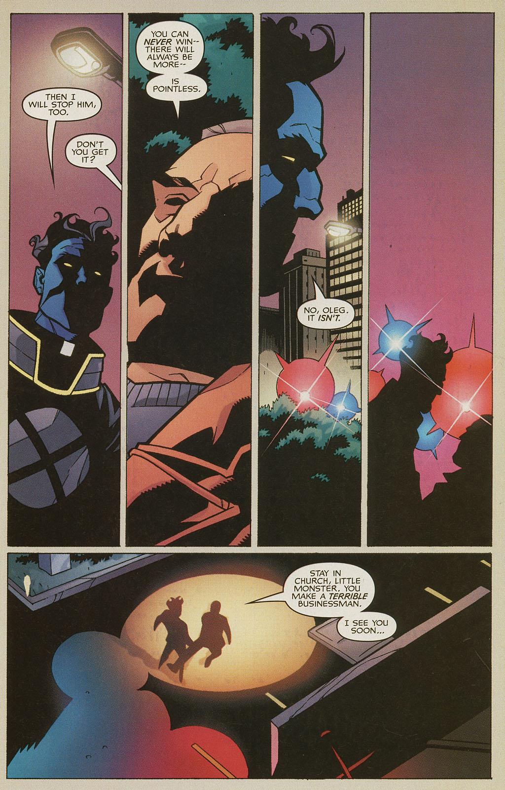 Read online Nightcrawler (2002) comic -  Issue #4 - 22