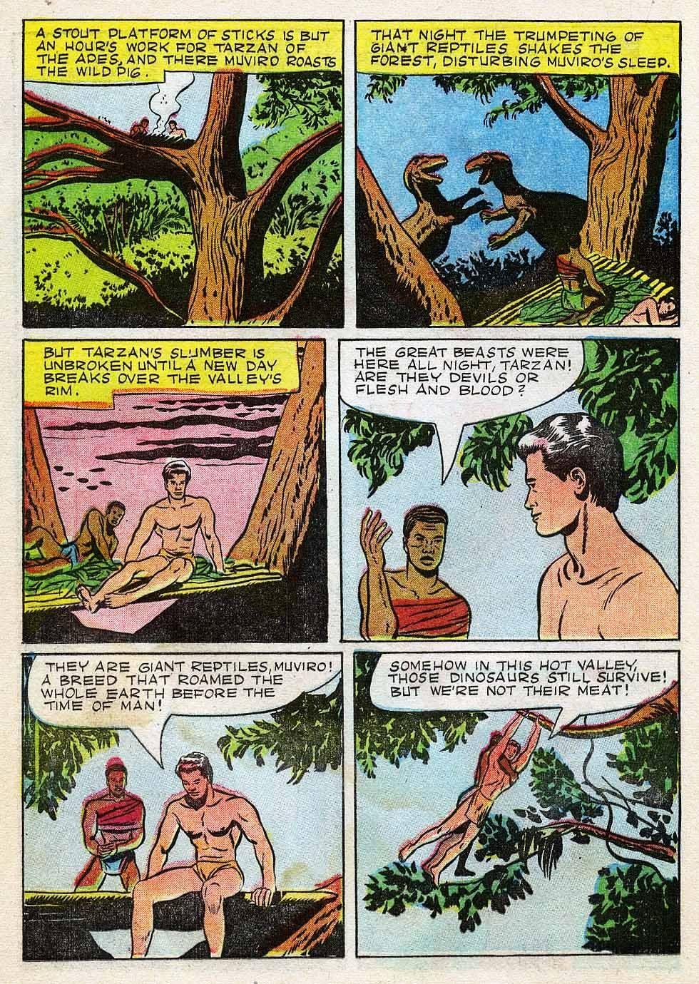 Tarzan (1948) issue 7 - Page 20