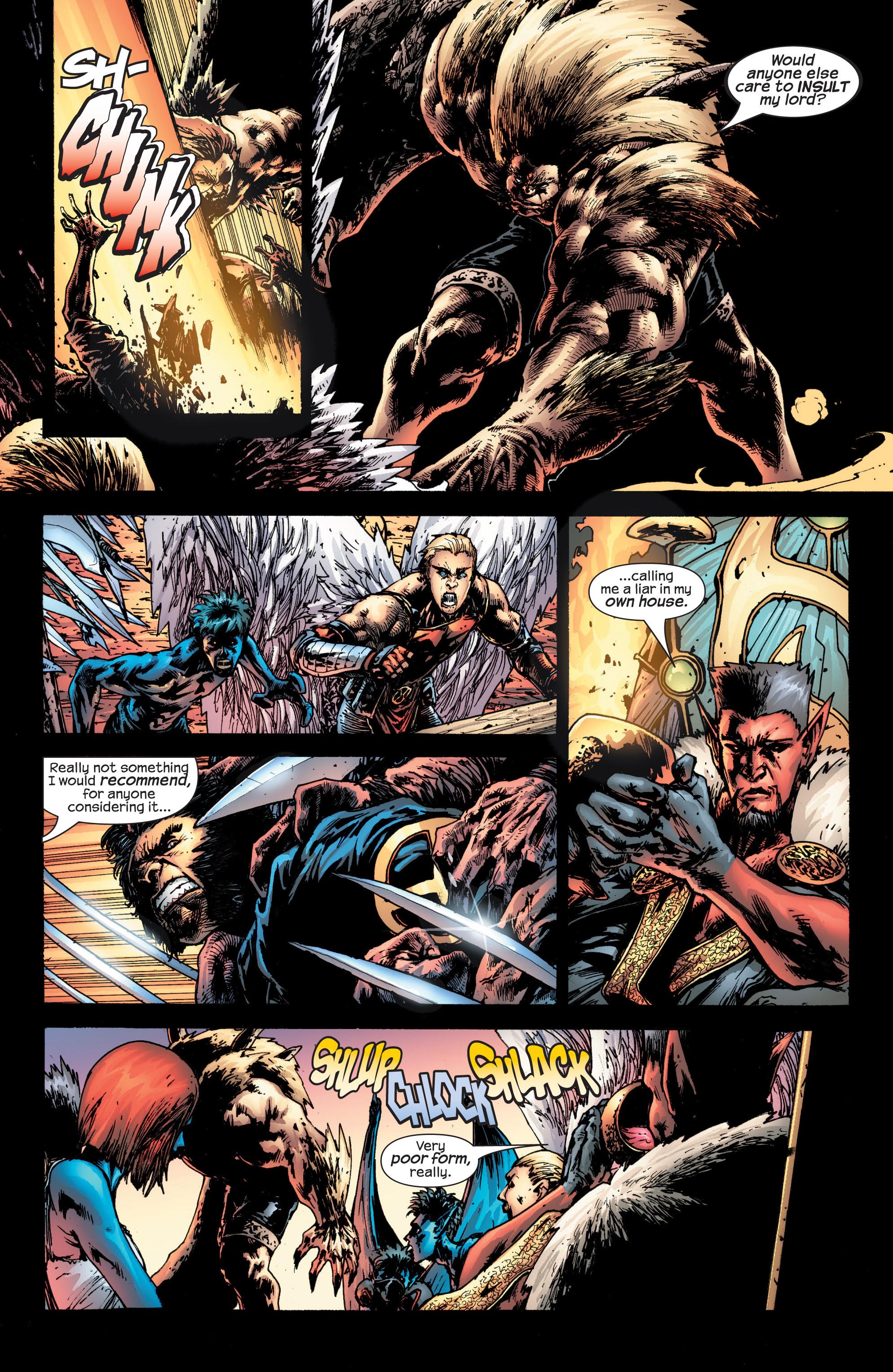 Read online Uncanny X-Men (1963) comic -  Issue #432 - 21