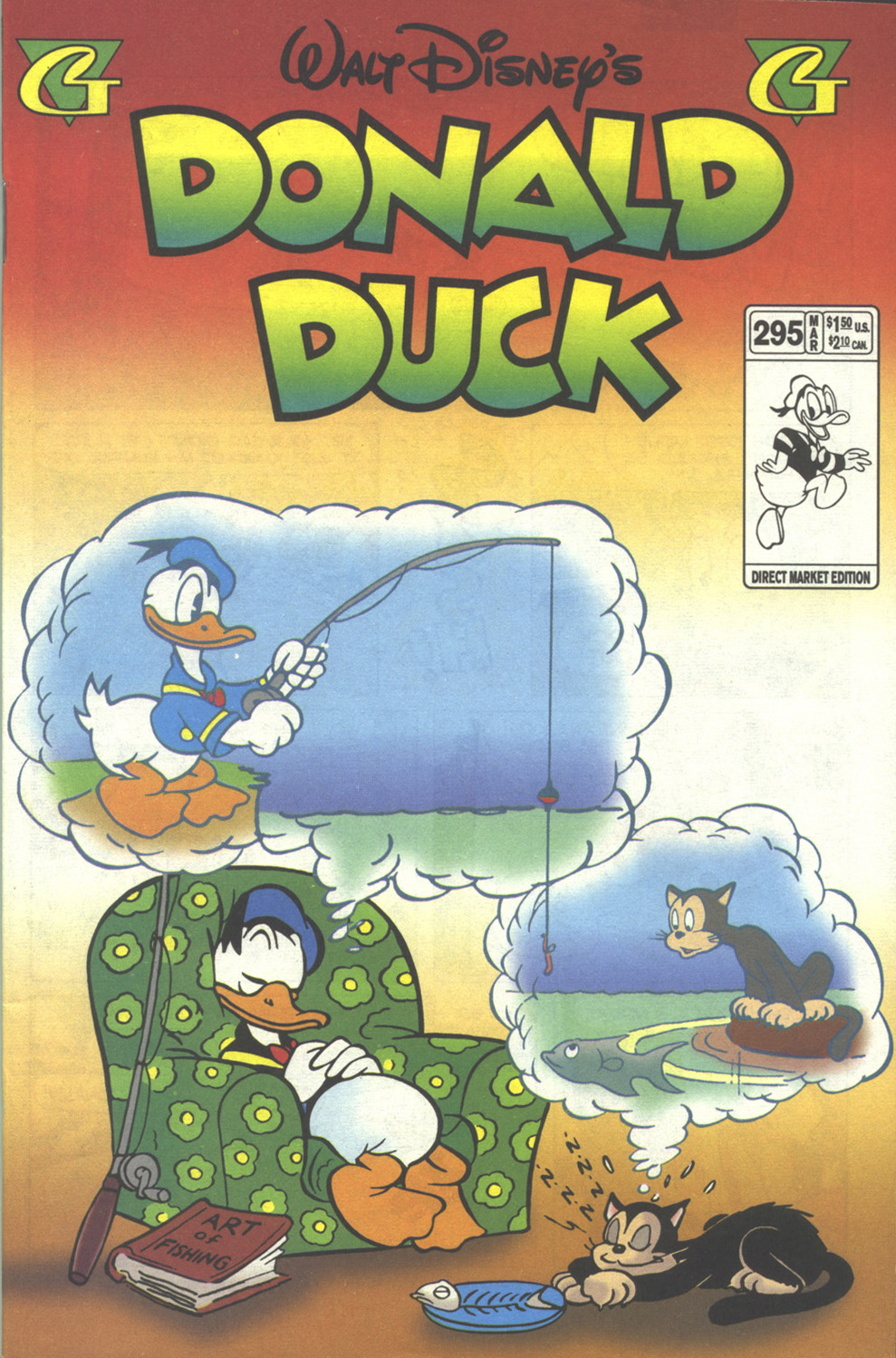 Walt Disney's Donald Duck (1952) issue 295 - Page 1