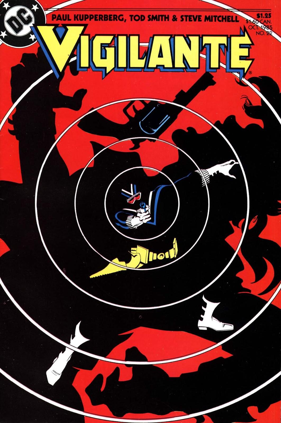 Vigilante (1983) issue 22 - Page 1