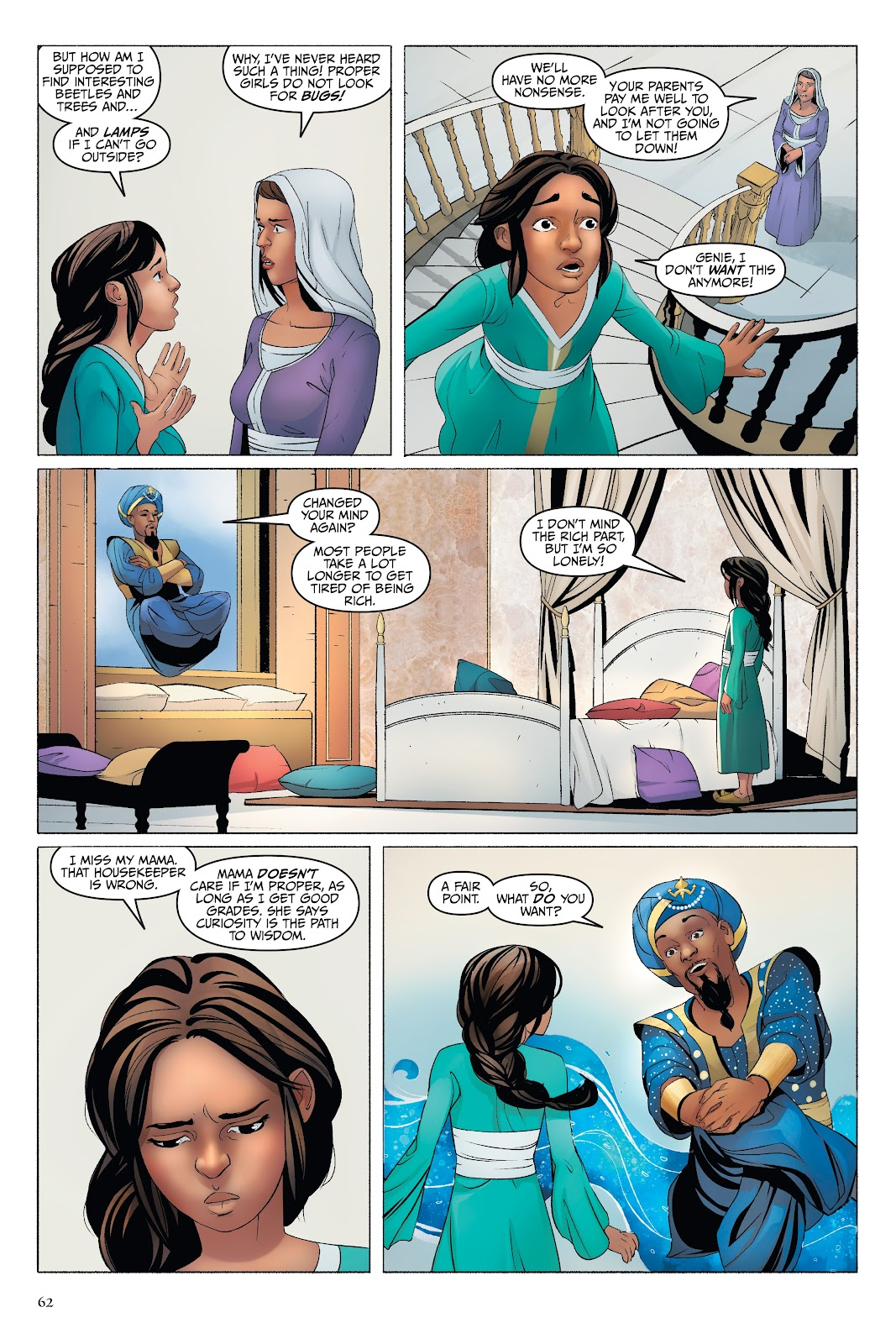 Read online Disney Aladdin: Four Tales of Agrabah comic -  Issue # TPB - 62