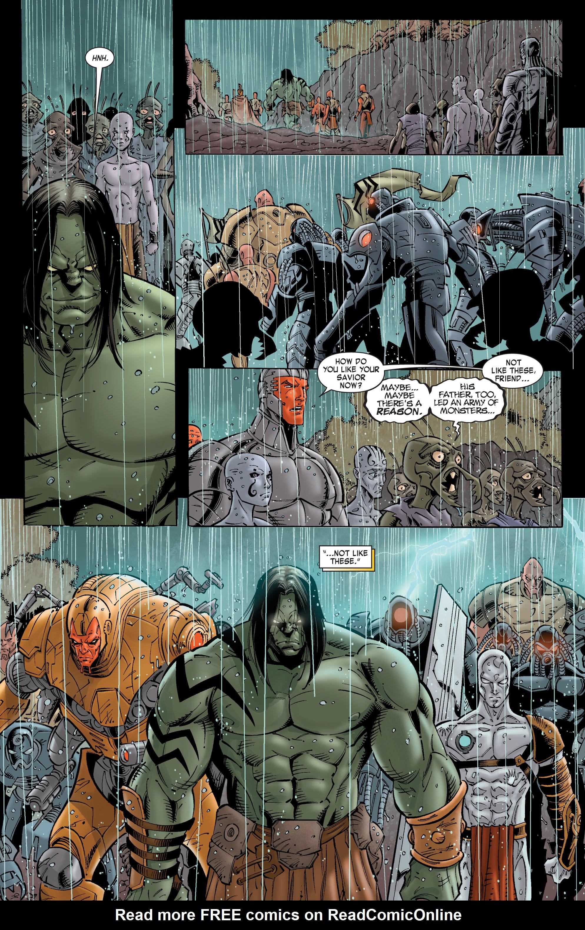 Read online Skaar: Son of Hulk comic -  Issue #8 - 8