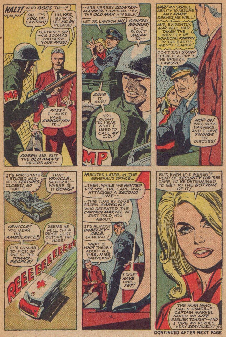 Captain Marvel (1968) Issue #3 #3 - English 16