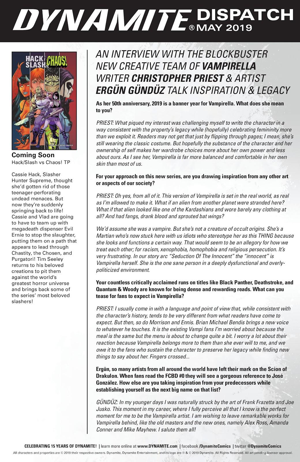 Read online Hack/Slash vs. Chaos comic -  Issue #5 - 24