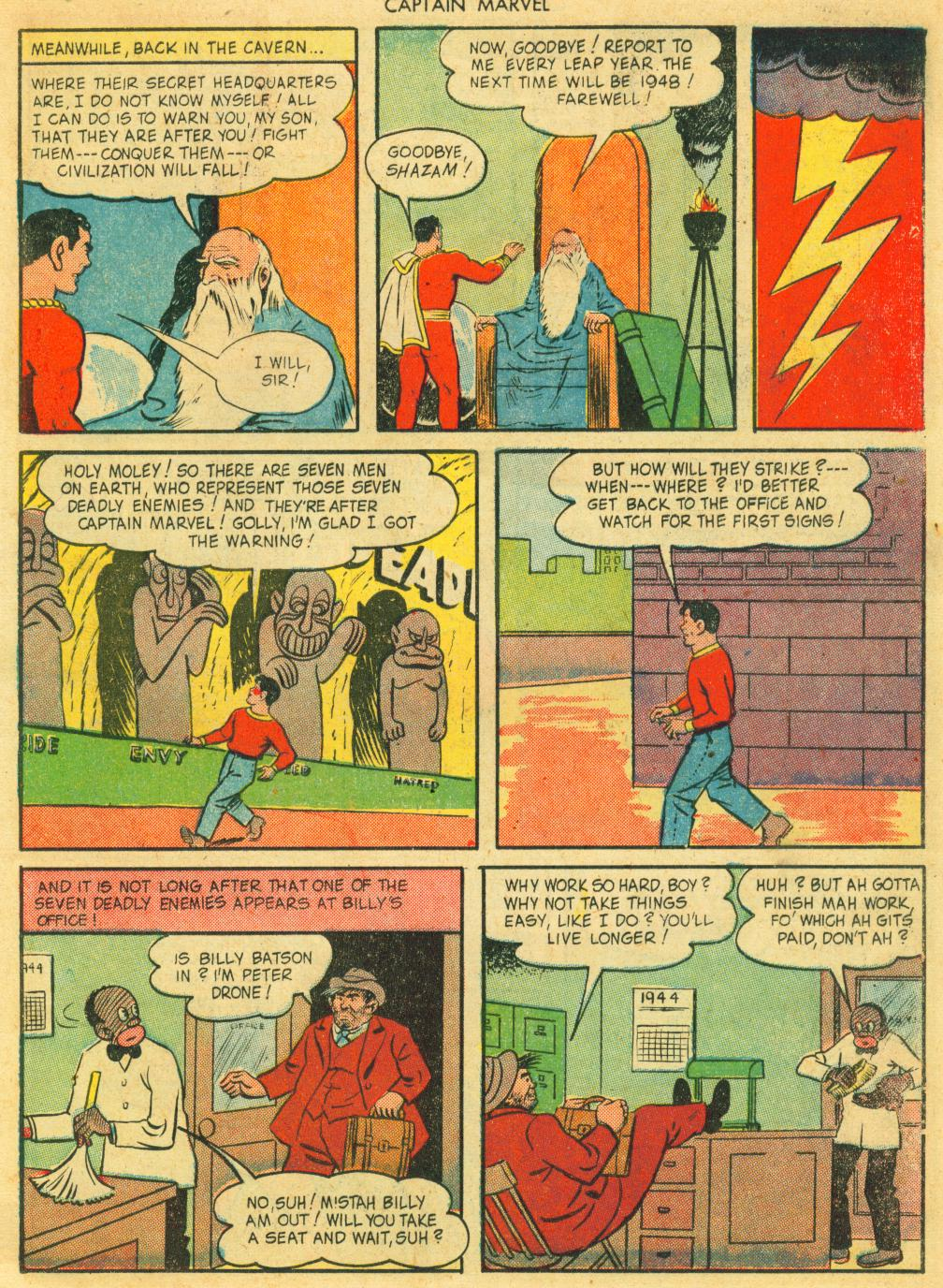 Captain Marvel Adventures issue 41 - Page 7