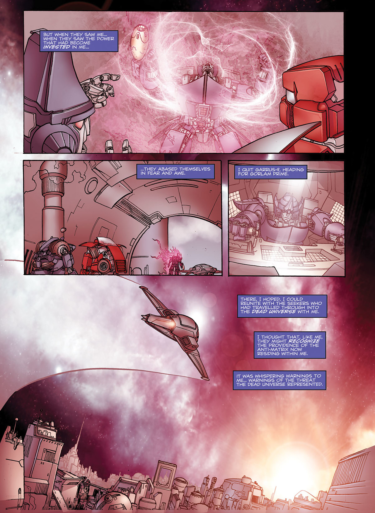Read online Transformers: Heart of Darkness comic -  Issue #1 - 12