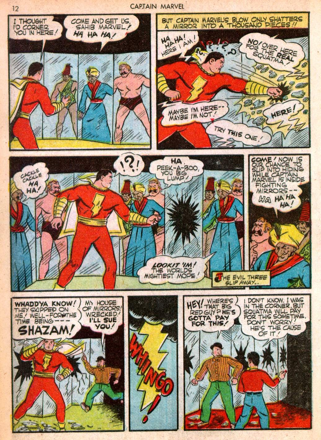 Captain Marvel Adventures issue 10 - Page 12