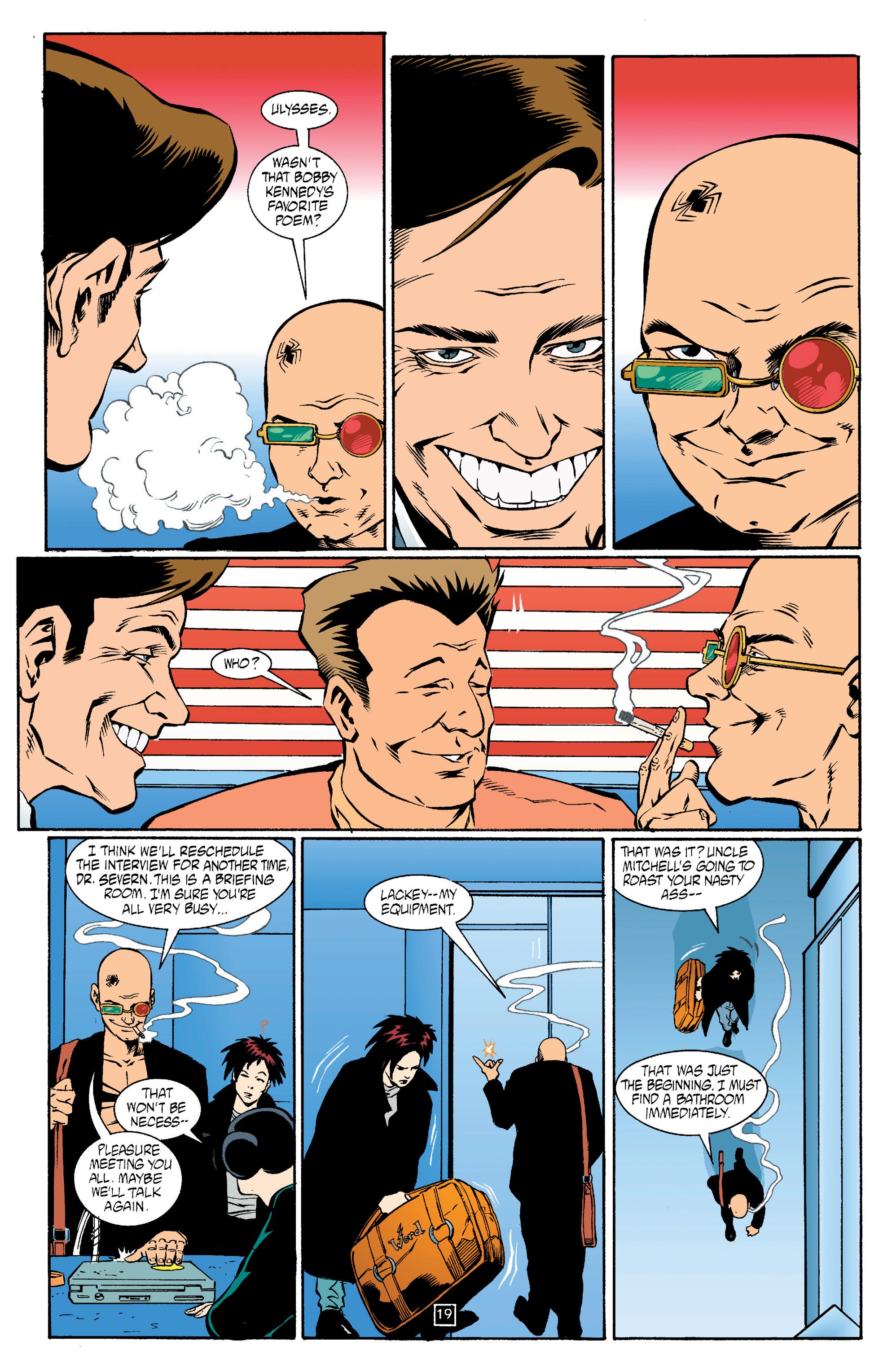 Read online Transmetropolitan comic -  Issue #14 - 20