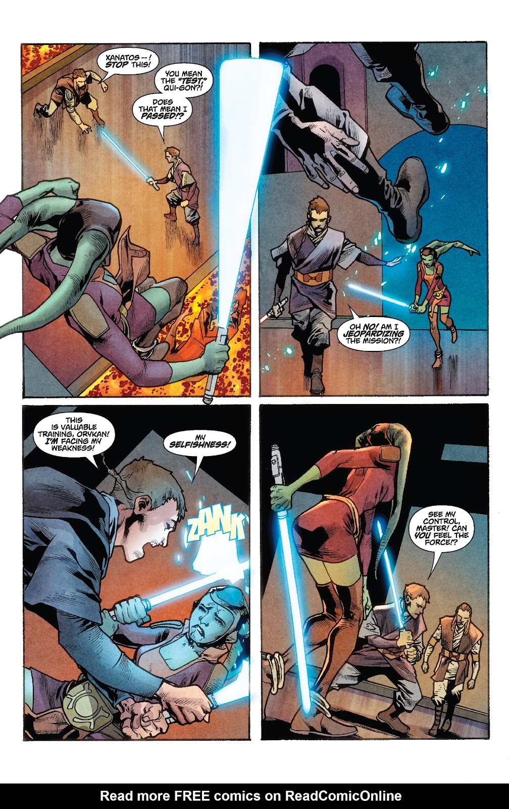 Read online Star Wars Legends: Rise of the Sith - Epic Collection comic -  Issue # TPB 1 (Part 2) - 93