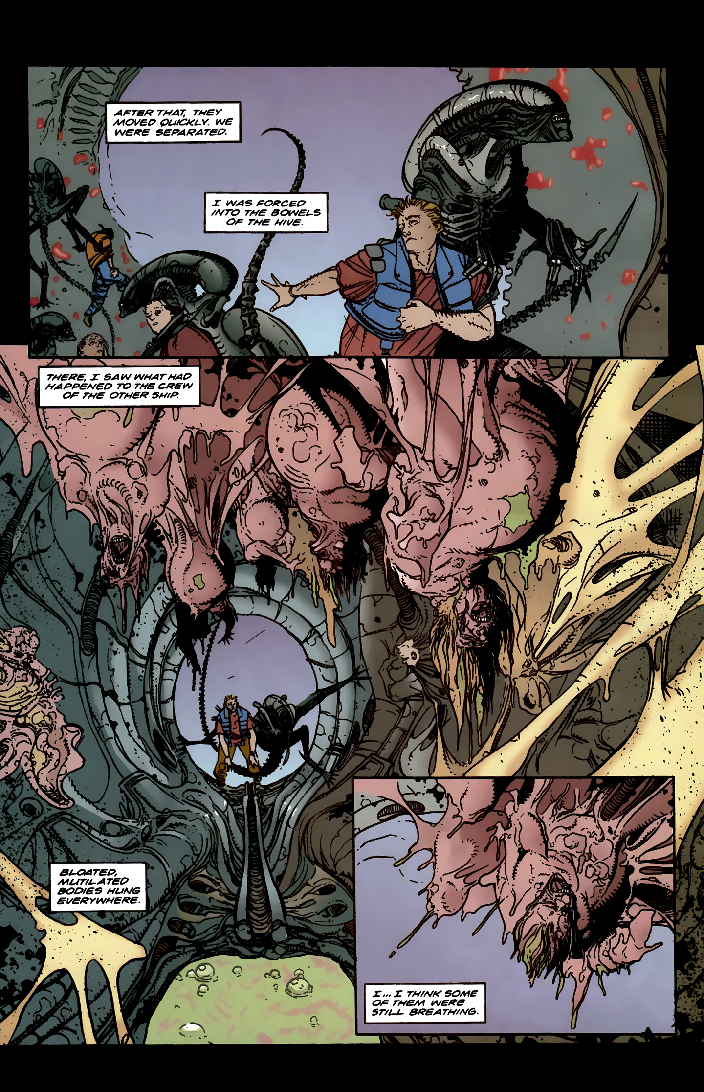 Read online Aliens: Labyrinth comic -  Issue #3 - 12