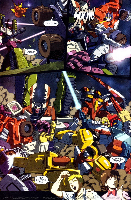 Read online Transformers Armada comic -  Issue #8 - 21