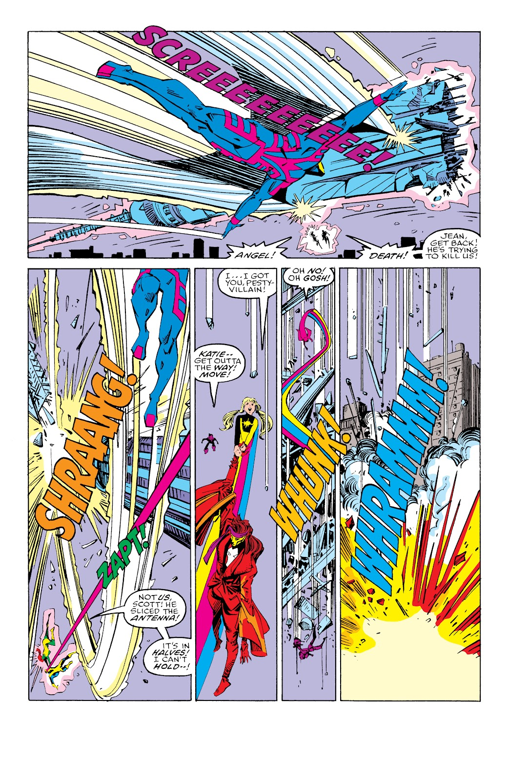 Read online X-Men Milestones: Fall of the Mutants comic -  Issue # TPB (Part 3) - 28