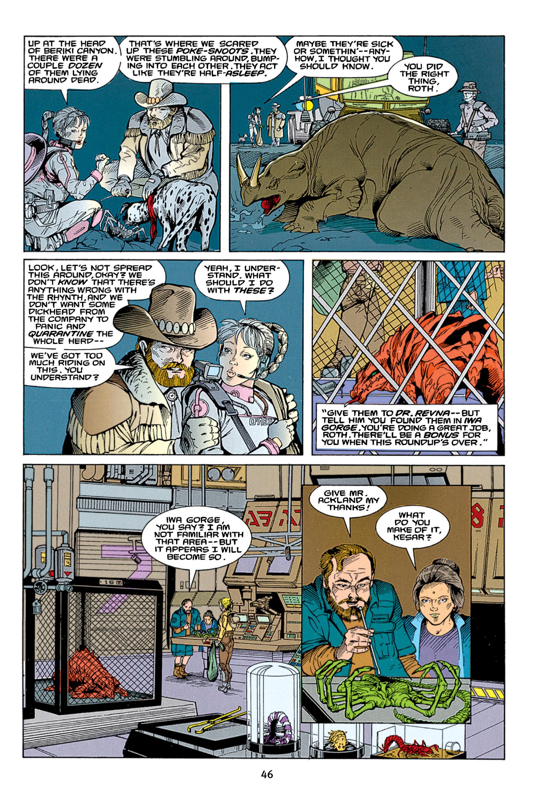 Read online Aliens vs. Predator Omnibus comic -  Issue # _TPB 1 Part 1 - 46