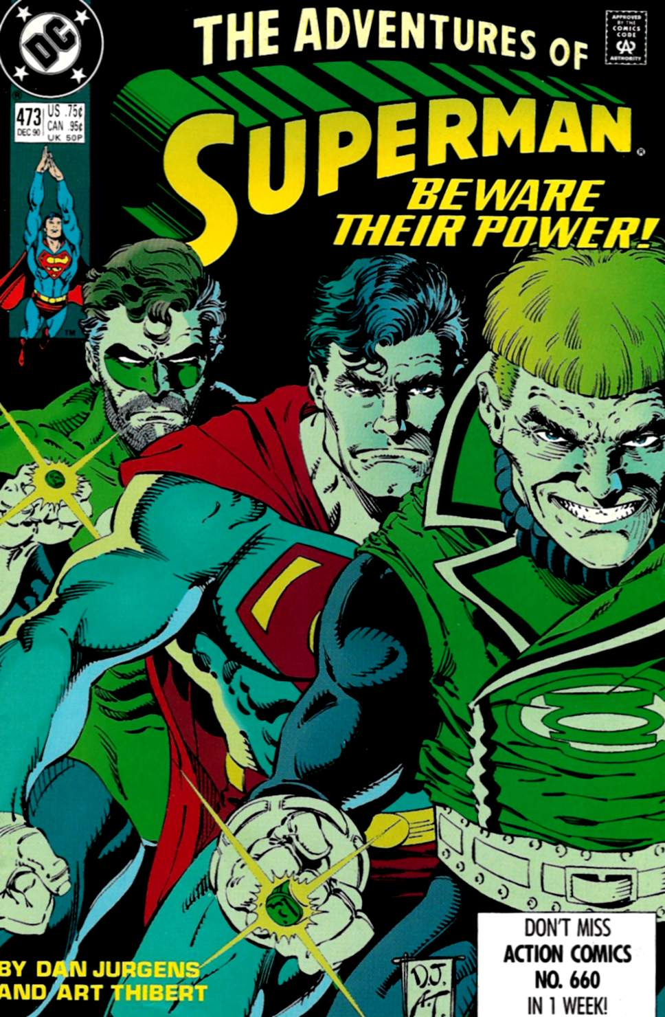 Read online Adventures of Superman (1987) comic -  Issue #473 - 2
