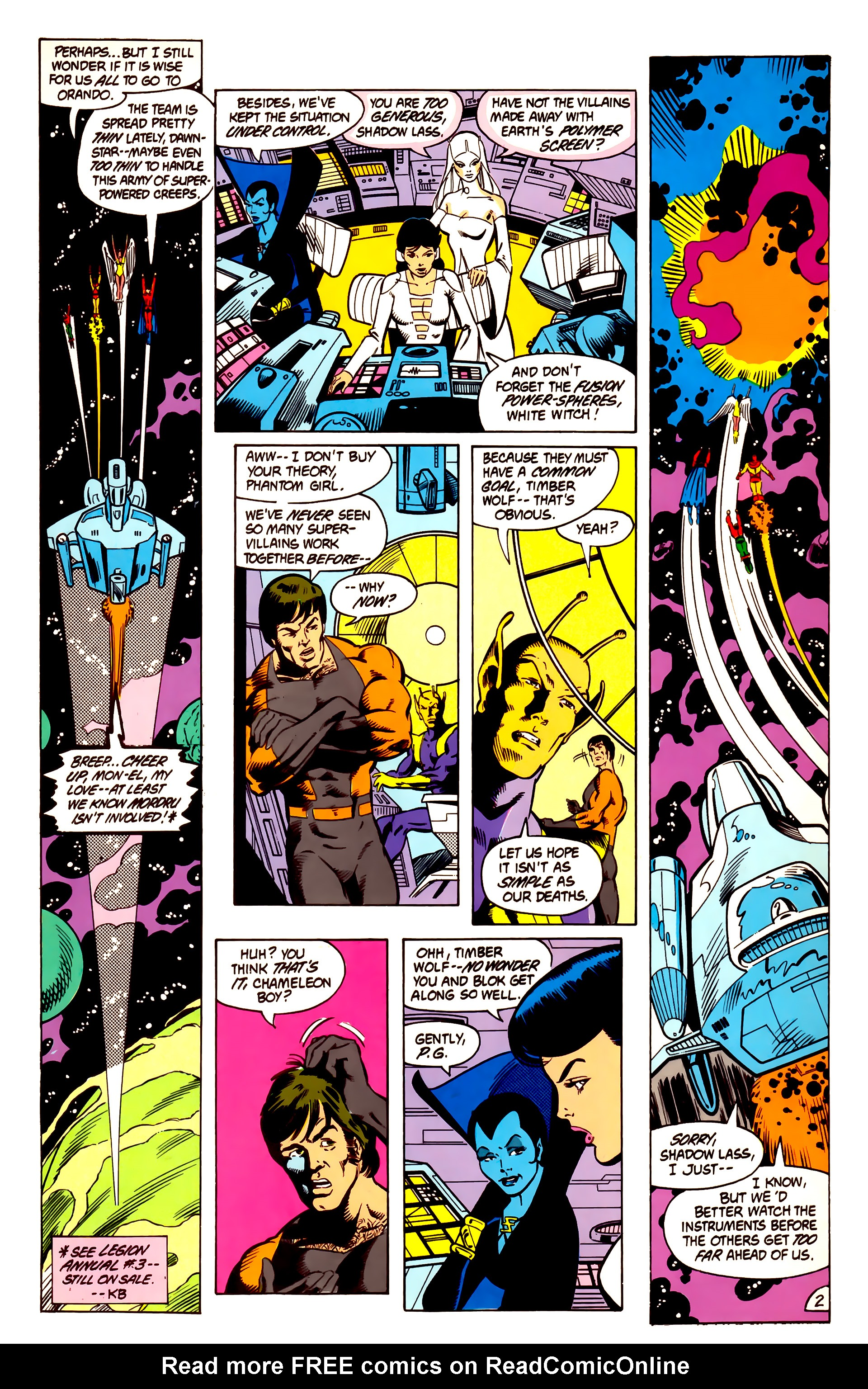 Legion of Super-Heroes (1984) 3 Page 3