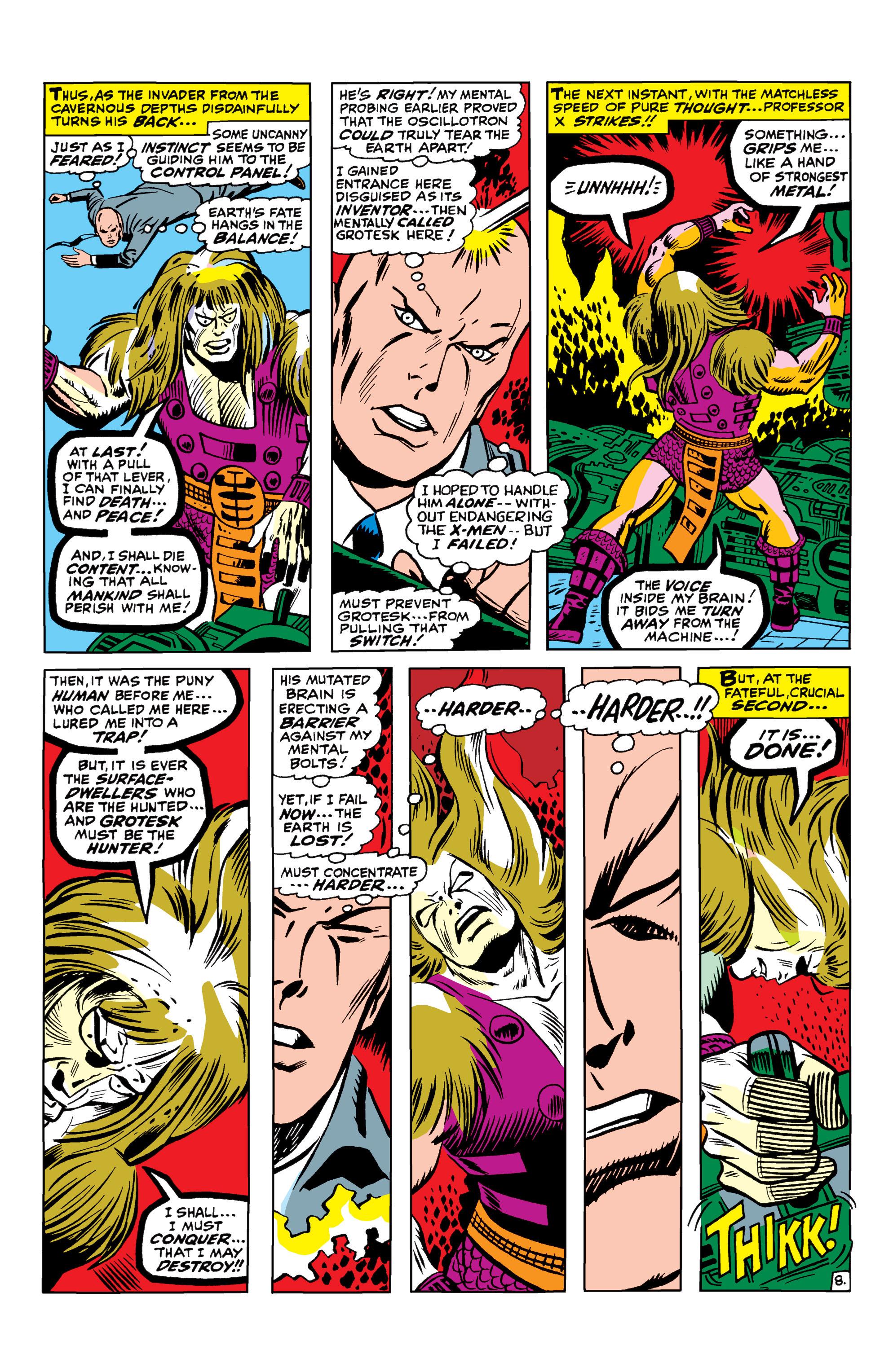 Read online Uncanny X-Men (1963) comic -  Issue #42 - 9
