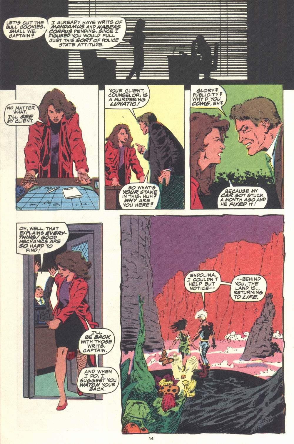 Read online Justice (1986) comic -  Issue #21 - 16