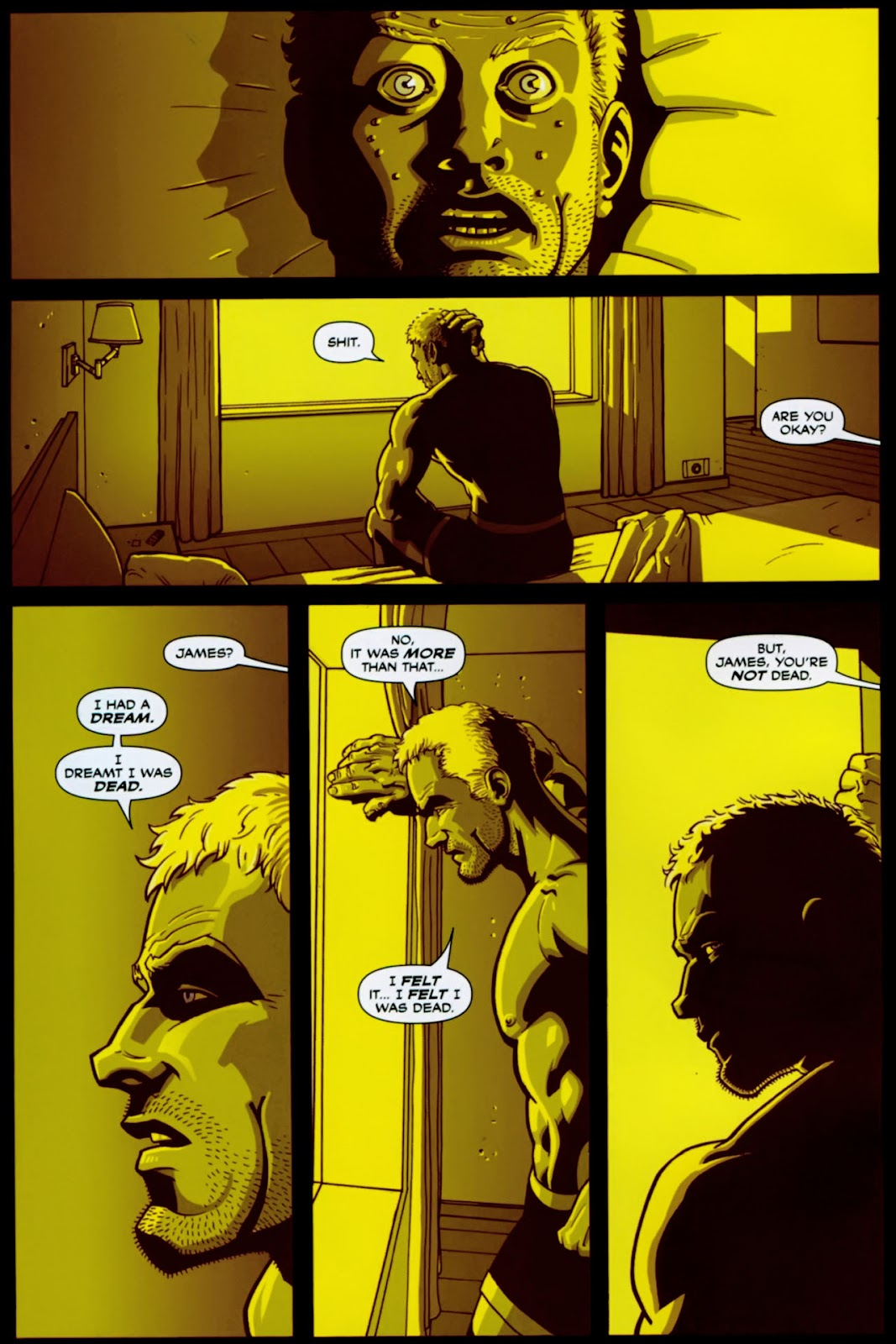 Read online Lazarus (2007) comic -  Issue #1 - 8