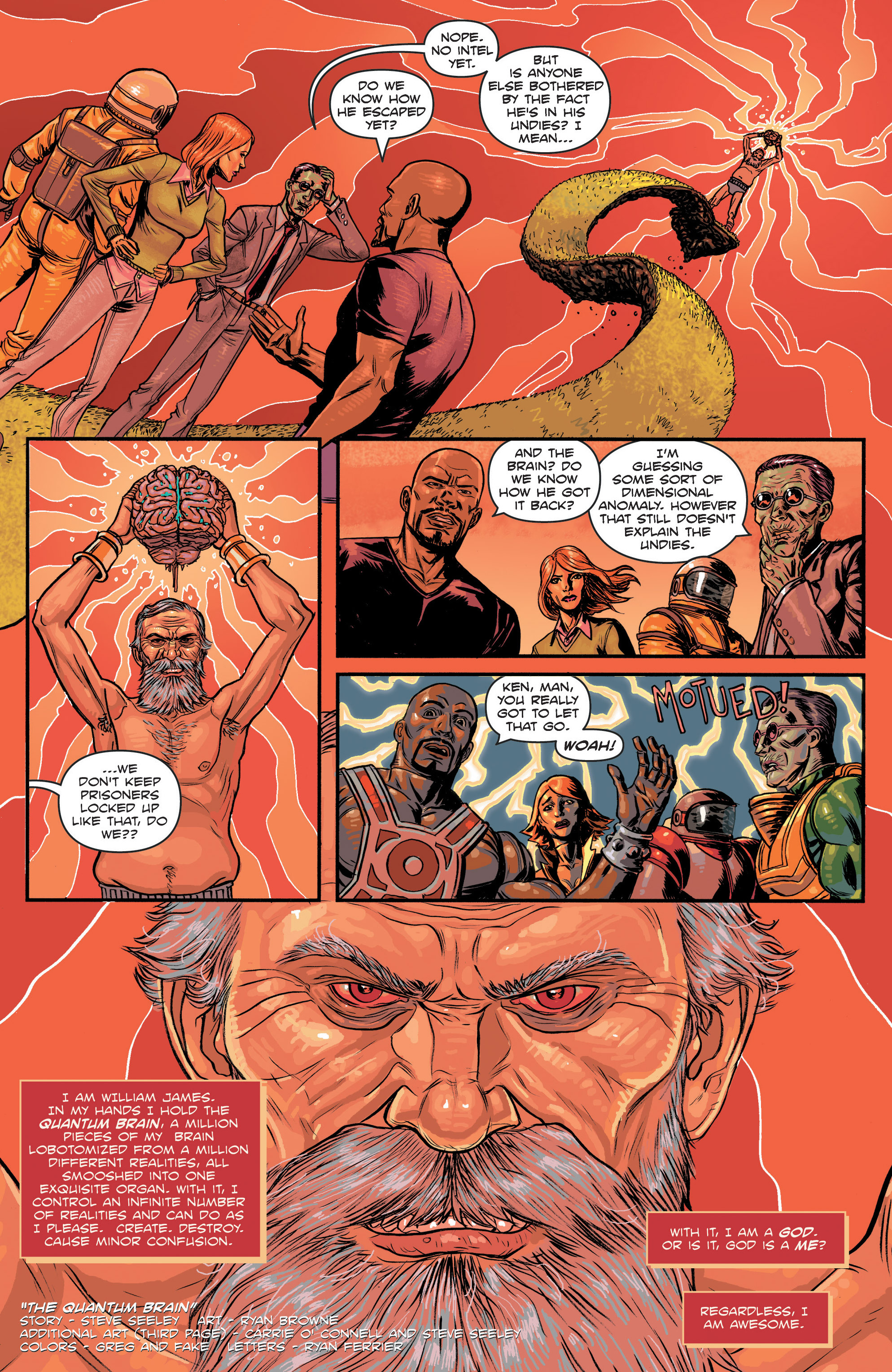 Read online Hoax Hunters (2012) comic -  Issue # TPB 3 - 111
