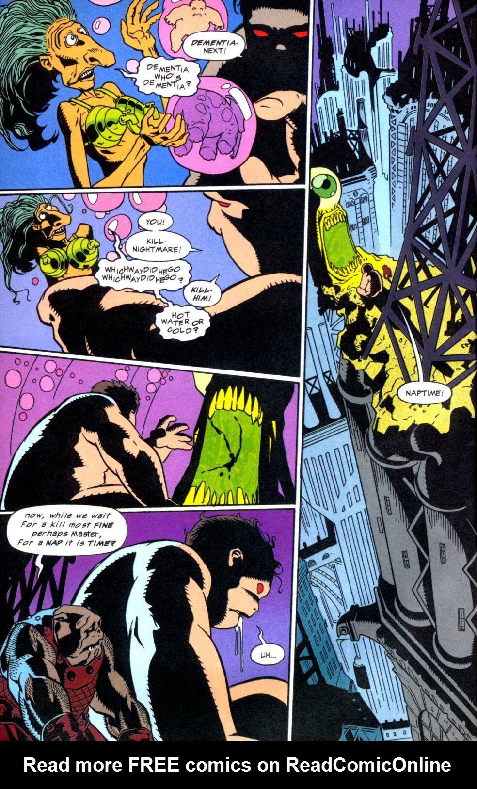 Read online Nightmare comic -  Issue #4 - 5