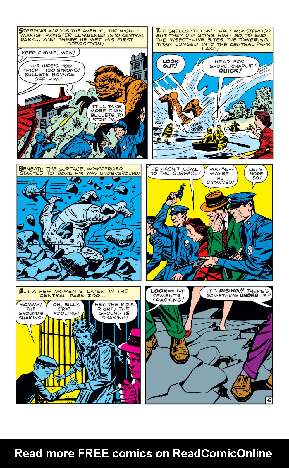 Read online Amazing Adventures (1961) comic -  Issue #5 - 8