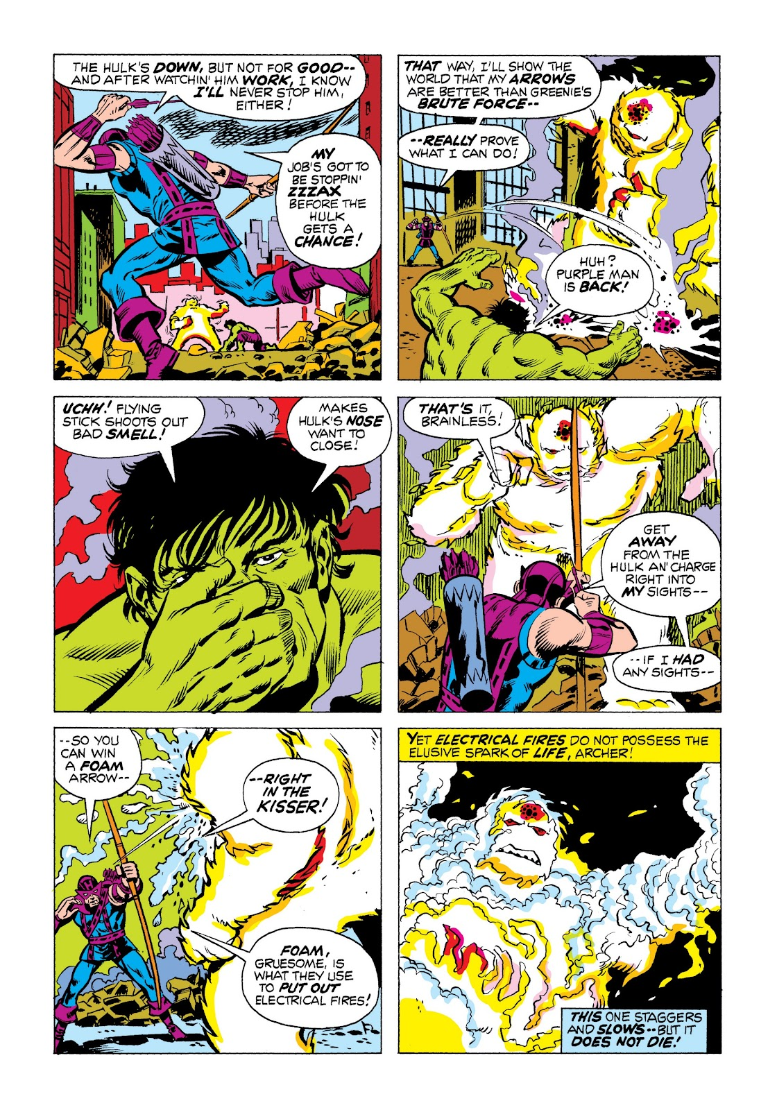 Read online Marvel Masterworks: The Incredible Hulk comic -  Issue # TPB 9 (Part 3) - 12