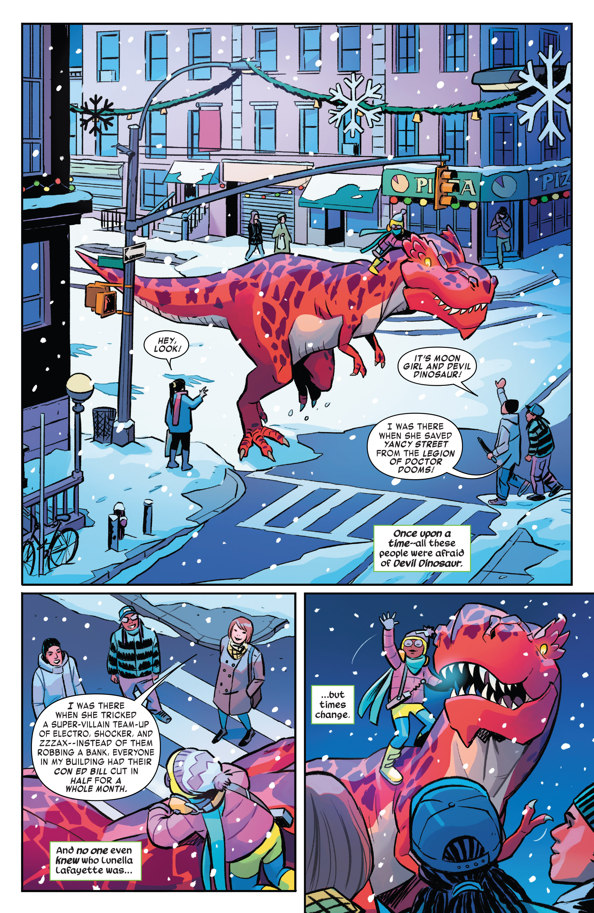 Read online Moon Girl And Devil Dinosaur comic -  Issue #19 - 5