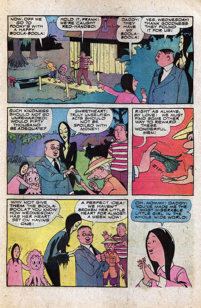 Read online Addams Family comic -  Issue #1 - 18